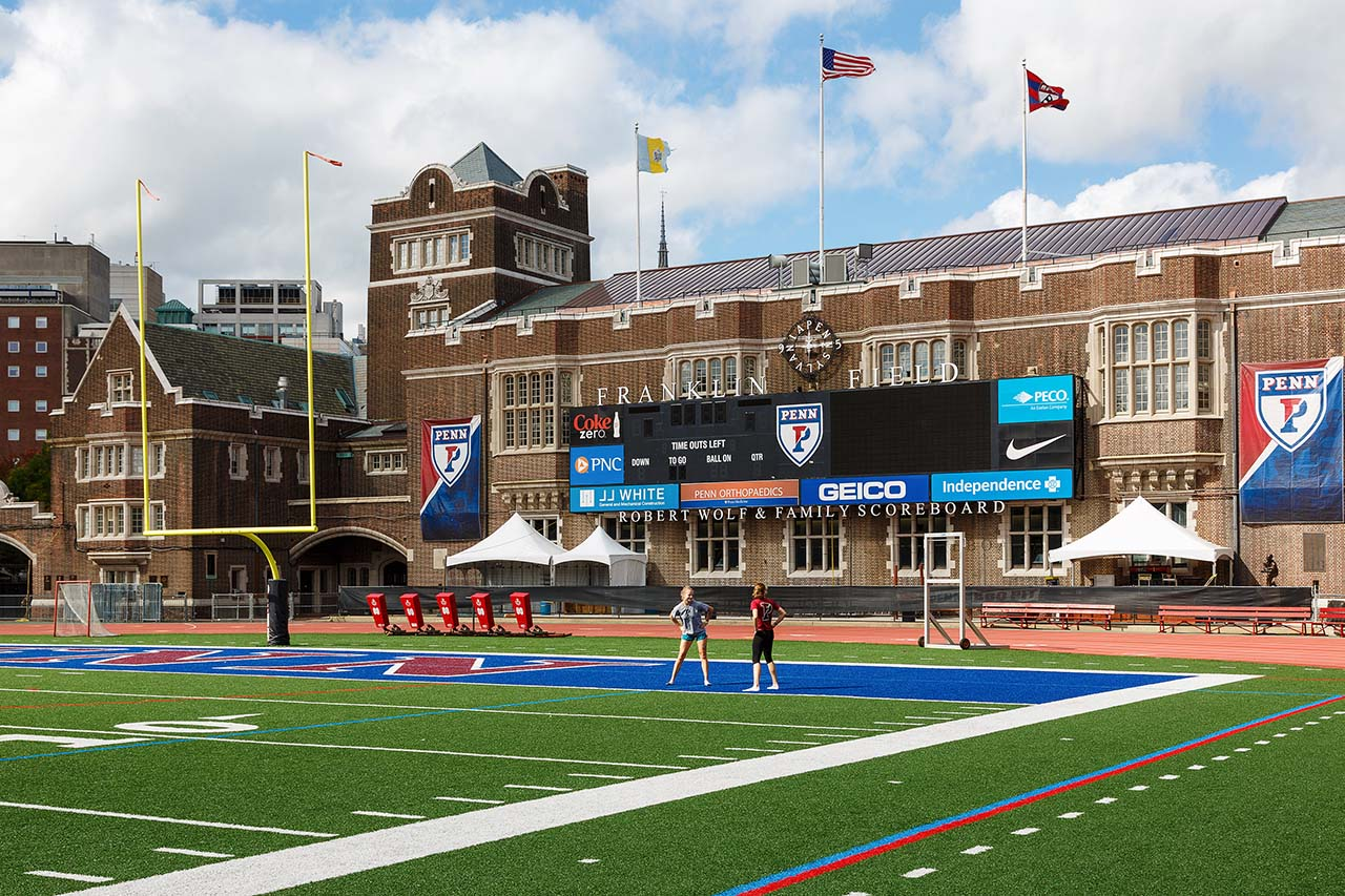 Franklin Field by Paul Loftland for PHLCVB | Photo Credit: Photo by Paul Loftland for PHLCVB
